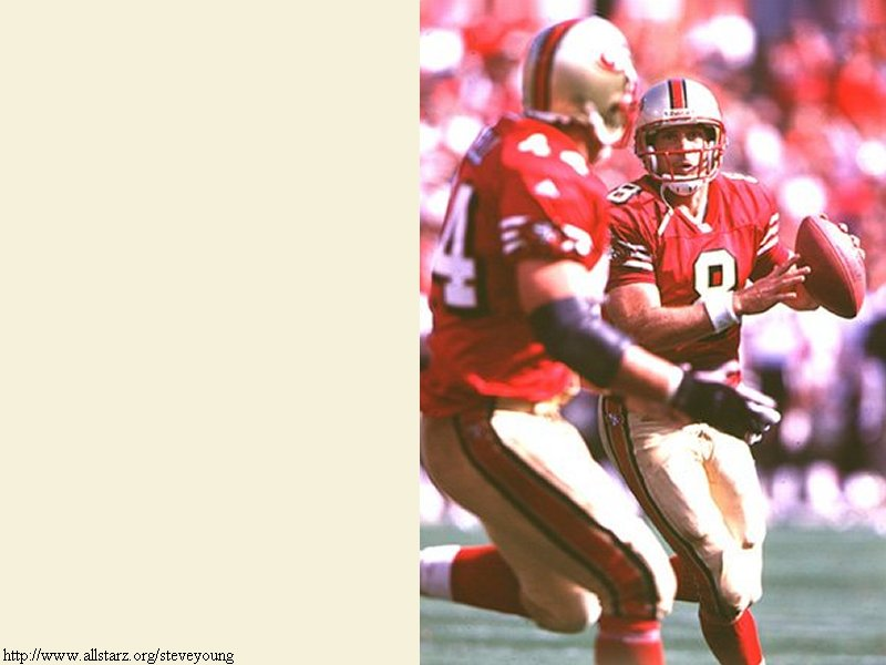 gallery for steve young wallpaper